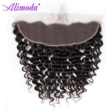 alimoda hair deep wave hair frontal closure