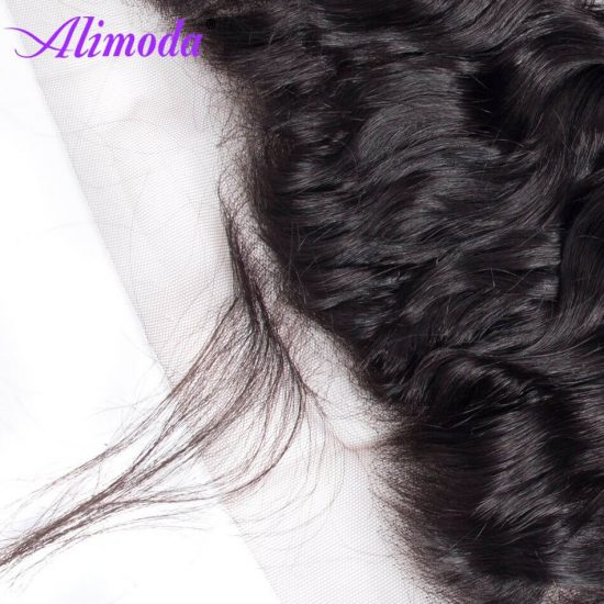 Ali moda hair water wave frontal