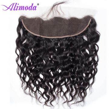 Ali moda hair water wave frontal