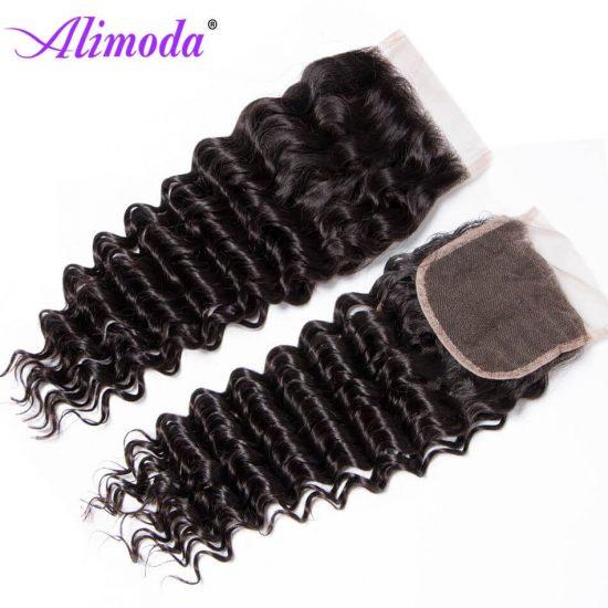 alimoda hair deep wave hair closure