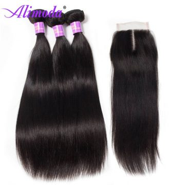 alimoda hair straight hair with closure