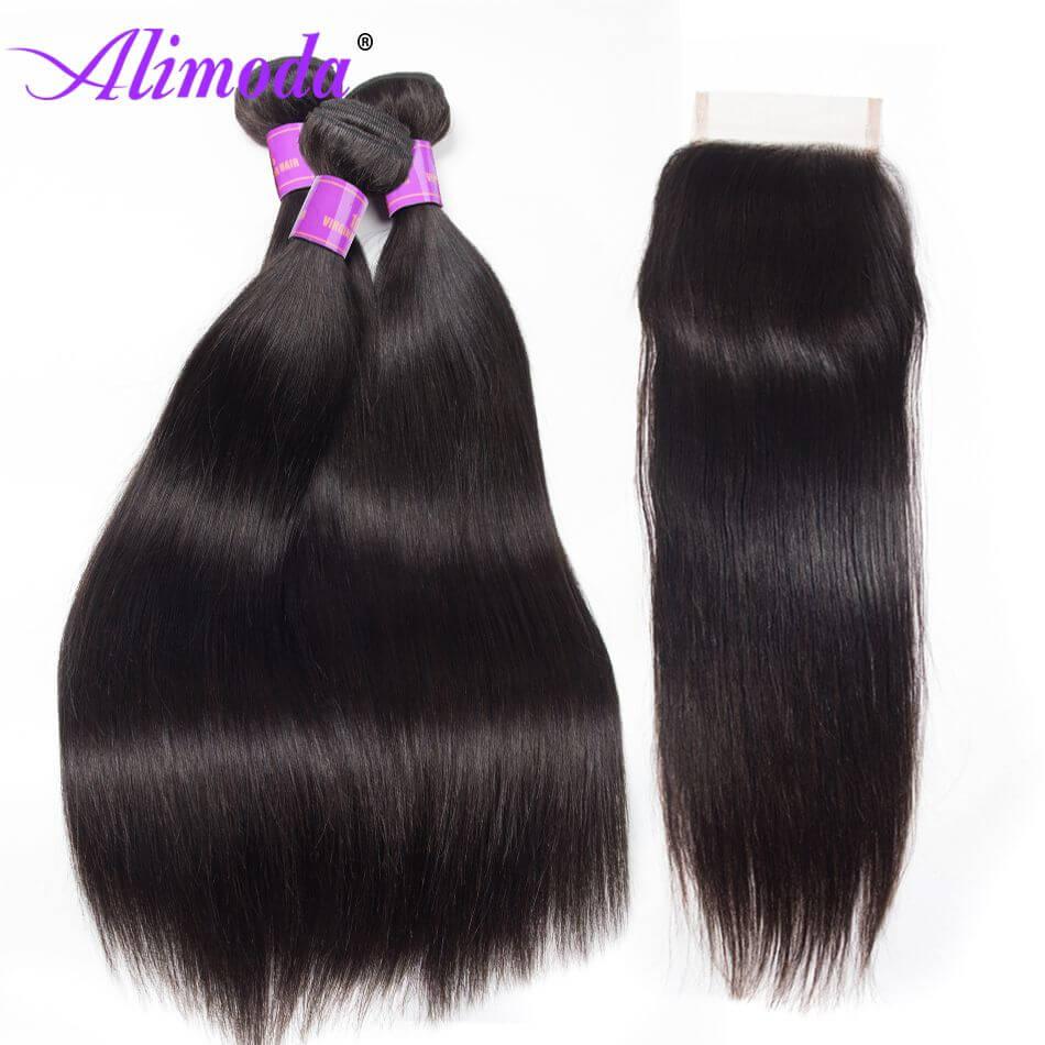 alimoda hair straight hair with closure