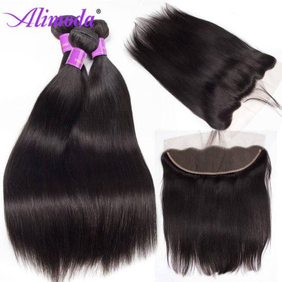 alimoda hair straight hair with frontal