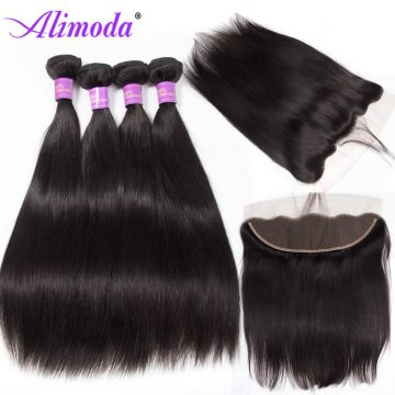 alimoda hair straight hair with frontal