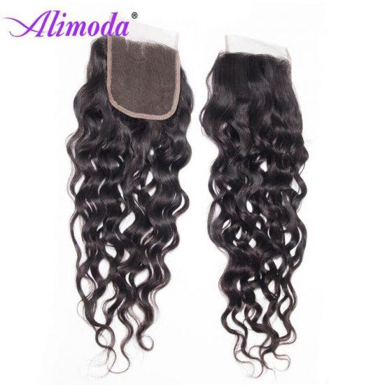 alimoda hair water wave closure