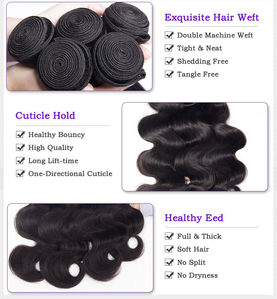Alimoda hair body wave details