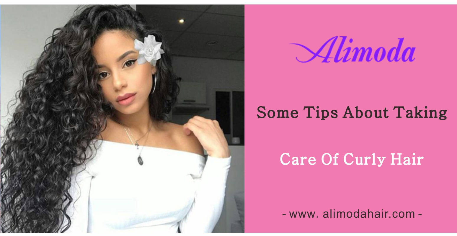 Some tips about taking care of curly hair