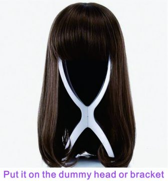 put your Alimoda hair extension on bracket