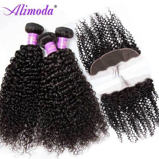 alimoda curly hair bundles with frontal 2
