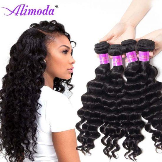 alimoda hair loose deep wave bundles 8