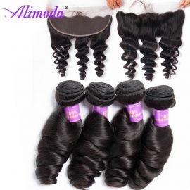 alimoda hair loose wave bundles with frontal 3