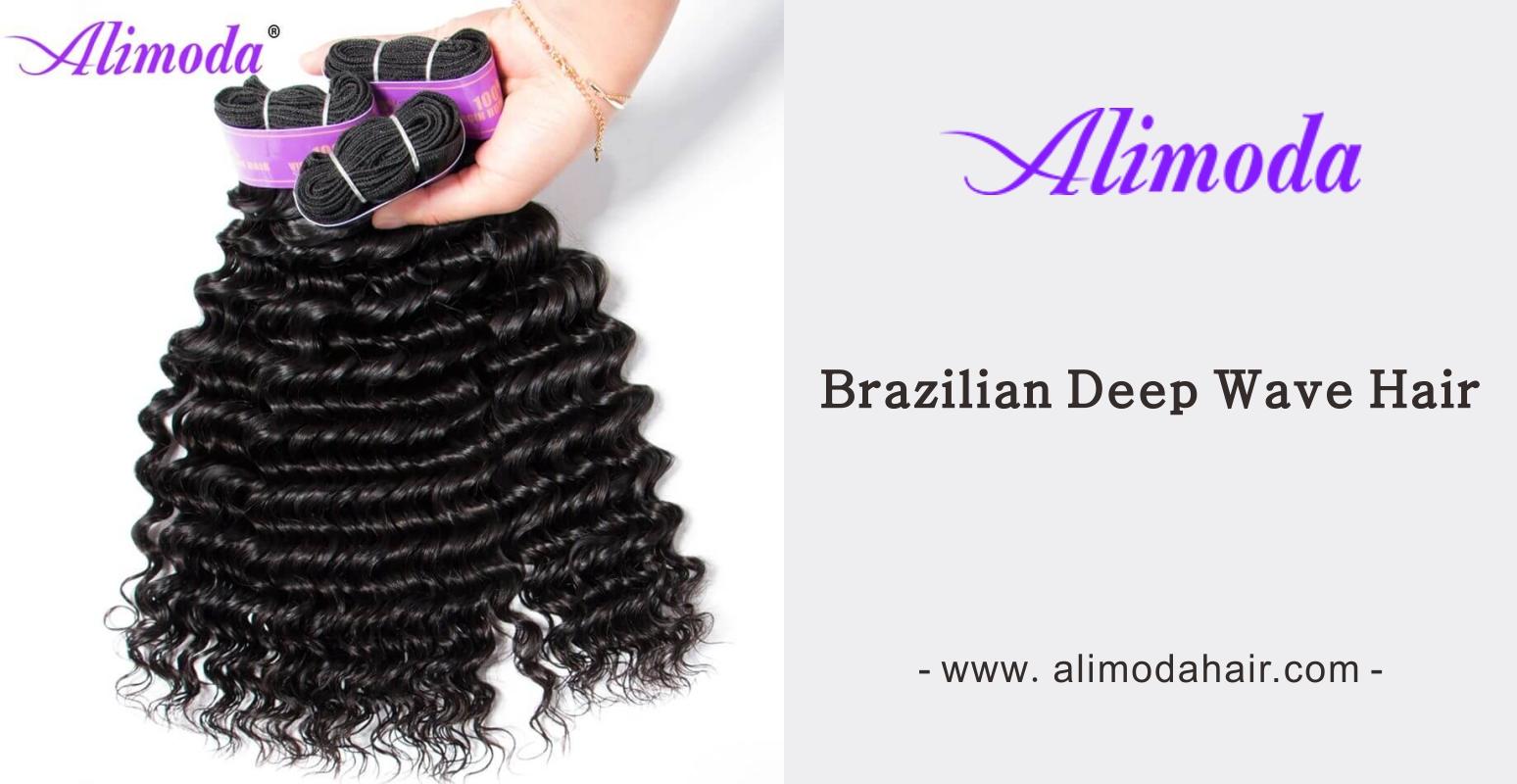 Alimoda Brazilian deep wave hair