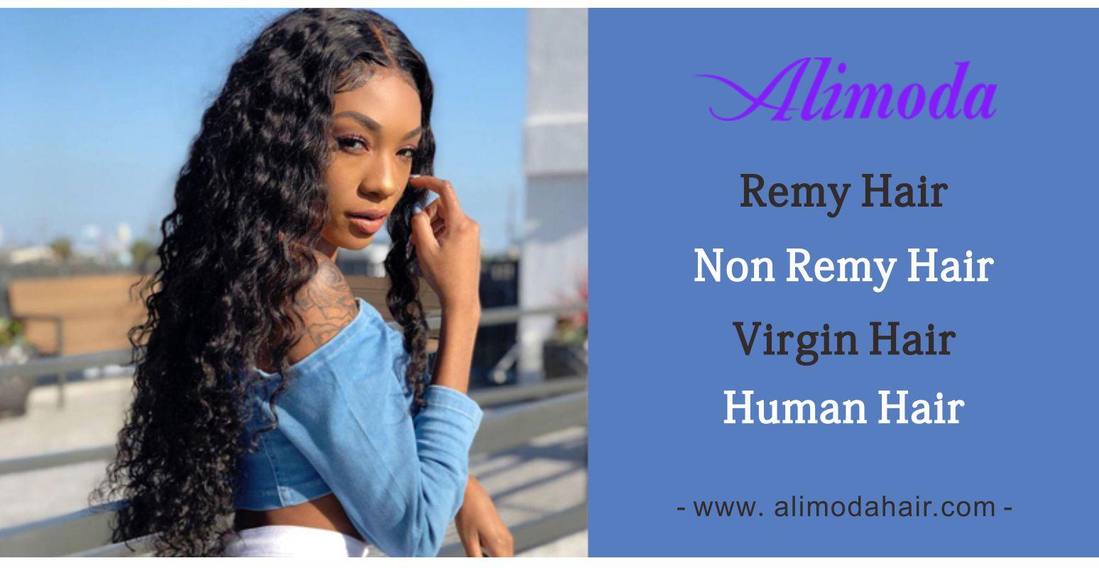 What is remy hair, non-remy hair, virgin hair, human hair?