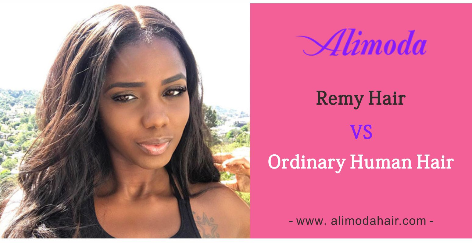 remy hair vs ordinary human hair