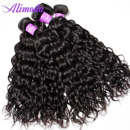 Ali moda hair water wave bundles 10