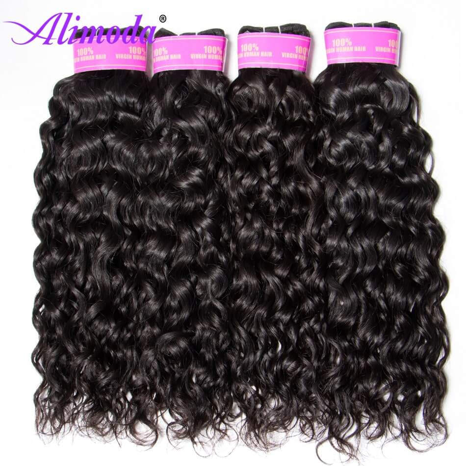 Ali moda hair water wave bundles 11