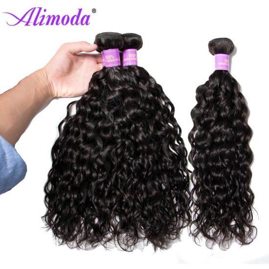 Ali moda hair water wave bundles 9