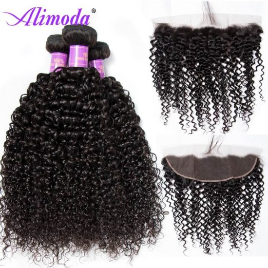 alimoda curly hair bundles with frontal 4