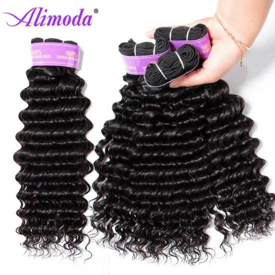 alimoda hair deep wave hair bundles 12