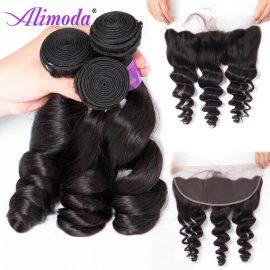 alimoda hair loose wave bundles with frontal 7