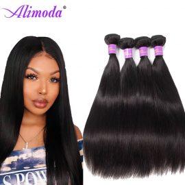 alimoda hair straight hair bundles 12