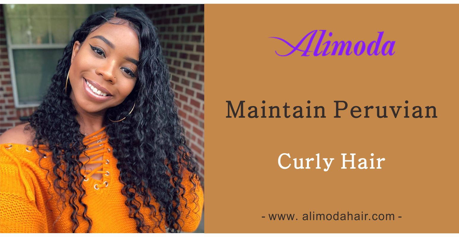 Maintain Peruvian curly hair